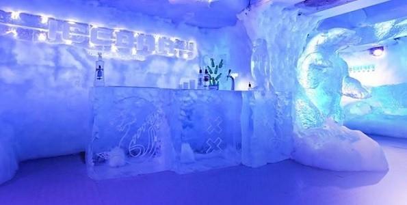 El primer bar de hielo en Córdoba