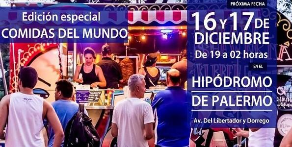 Comidas del Mundo: festival cocina étnica en Bs As Market