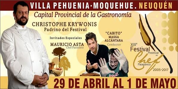 Festival del Chef Patagónico en Villa Pehuenia