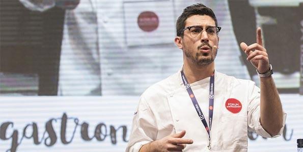 """Jorge Gago: """"Soy cocinero para hacer feliz a la gente"""""""