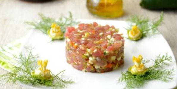 Receta Tartar de Bonito