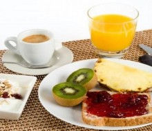 Desayuno variado y saludable