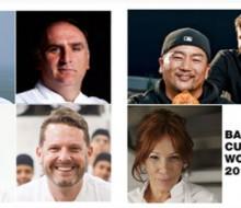 Finalistas del Basque Culinary World Prize 2017