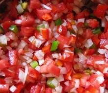 Salsa criolla, receta 100% argentina