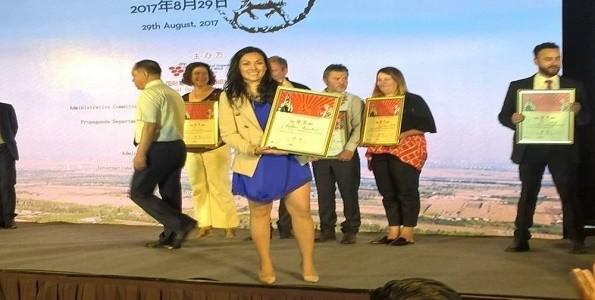 Enóloga mendocina gana Medalla de Plata en China