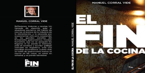 Nuevo libro de Manuel Corral Vide: El fin de la cocina