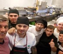 """Goycochea inaugura su restaurante """"Italia 90"""""""