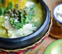 Ajiaco santafereño: plato tradicional de Colombia